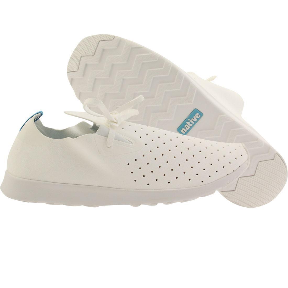 【海外限定】ネイティブ モカシン シェル スニーカー 靴 【 SHELL NATIVE MEN APOLLO MOC MOCCASIN WHITE 】