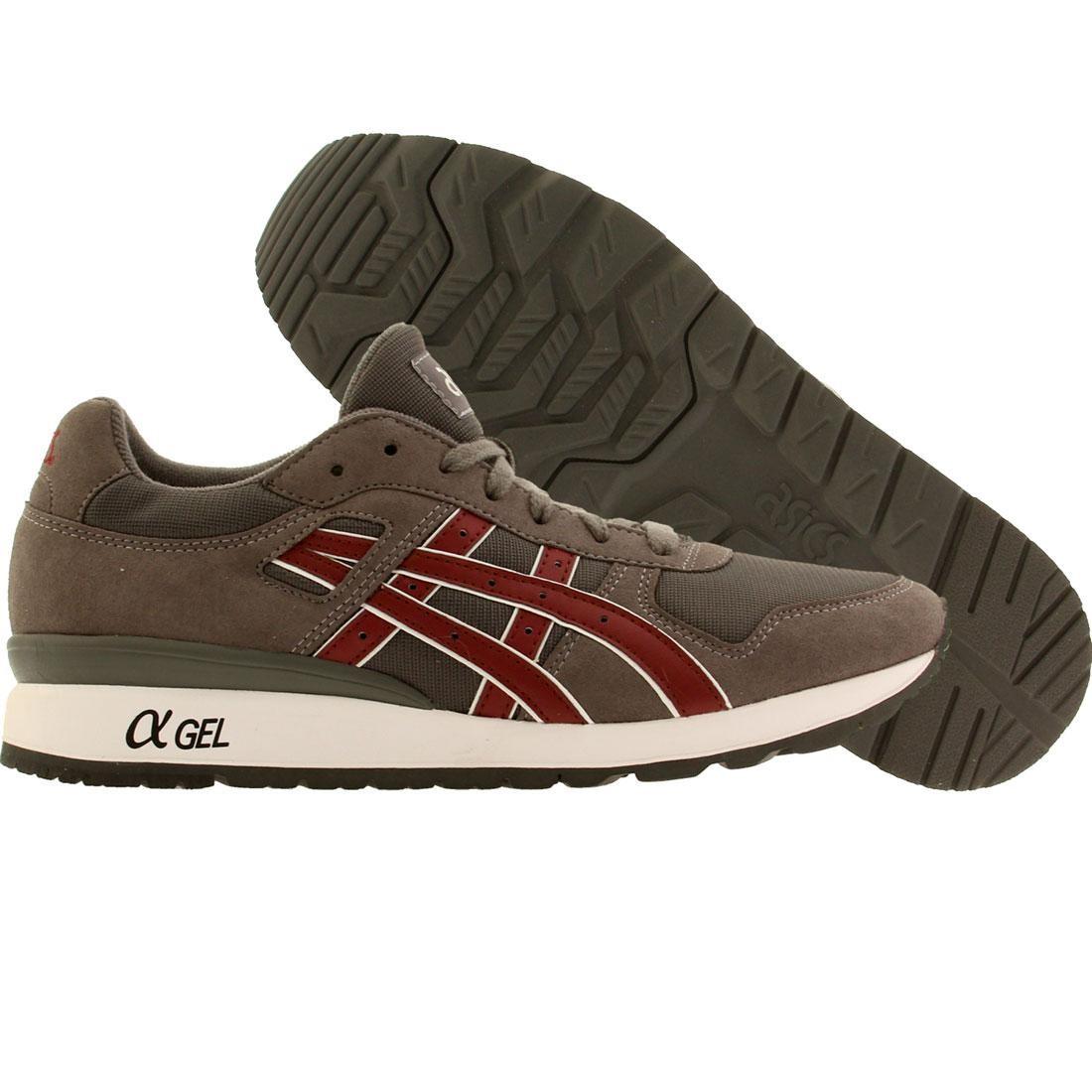【海外限定】アシックス メンズ靴 靴 【 ASICS TIGER MEN GTII GRAY BURGUNDY 】