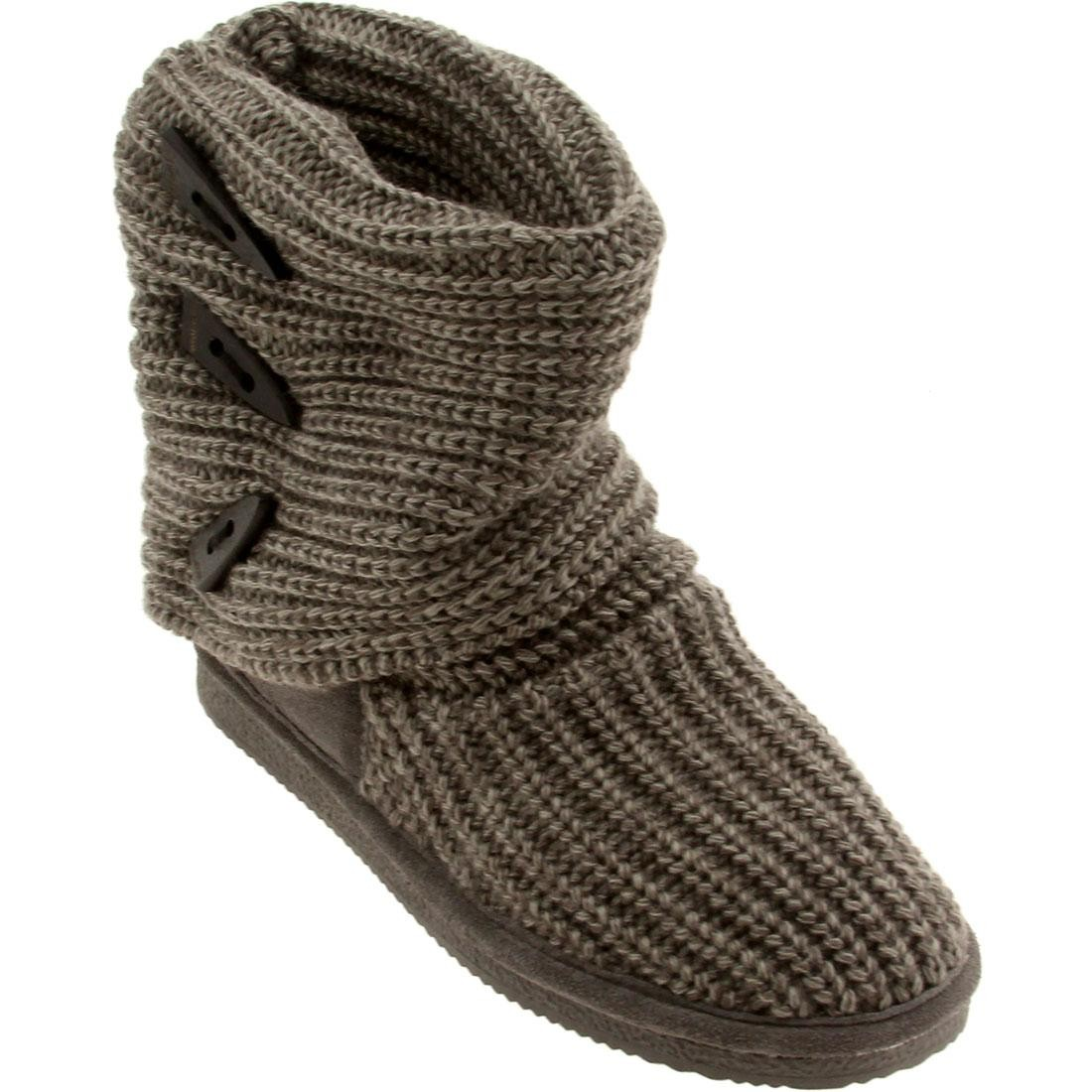 ニット ブーツ レディース 【 Bearpaw Women Knit Tall Boot (gray) 】 Gray