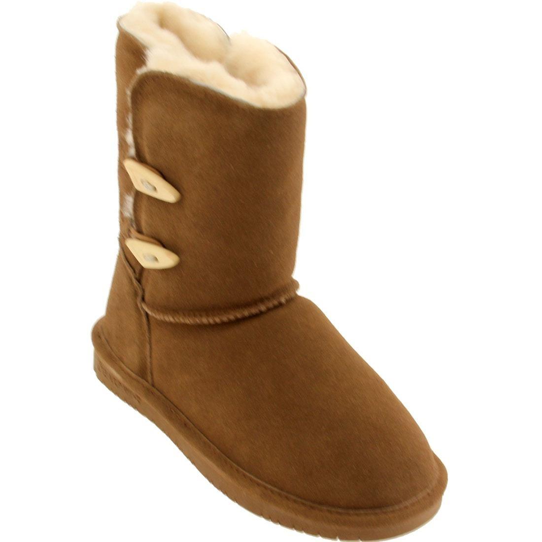 ブーツ レディース 【 Bearpaw Women Abigail Boot (brown / Hickory) 】 Brown / Hickory