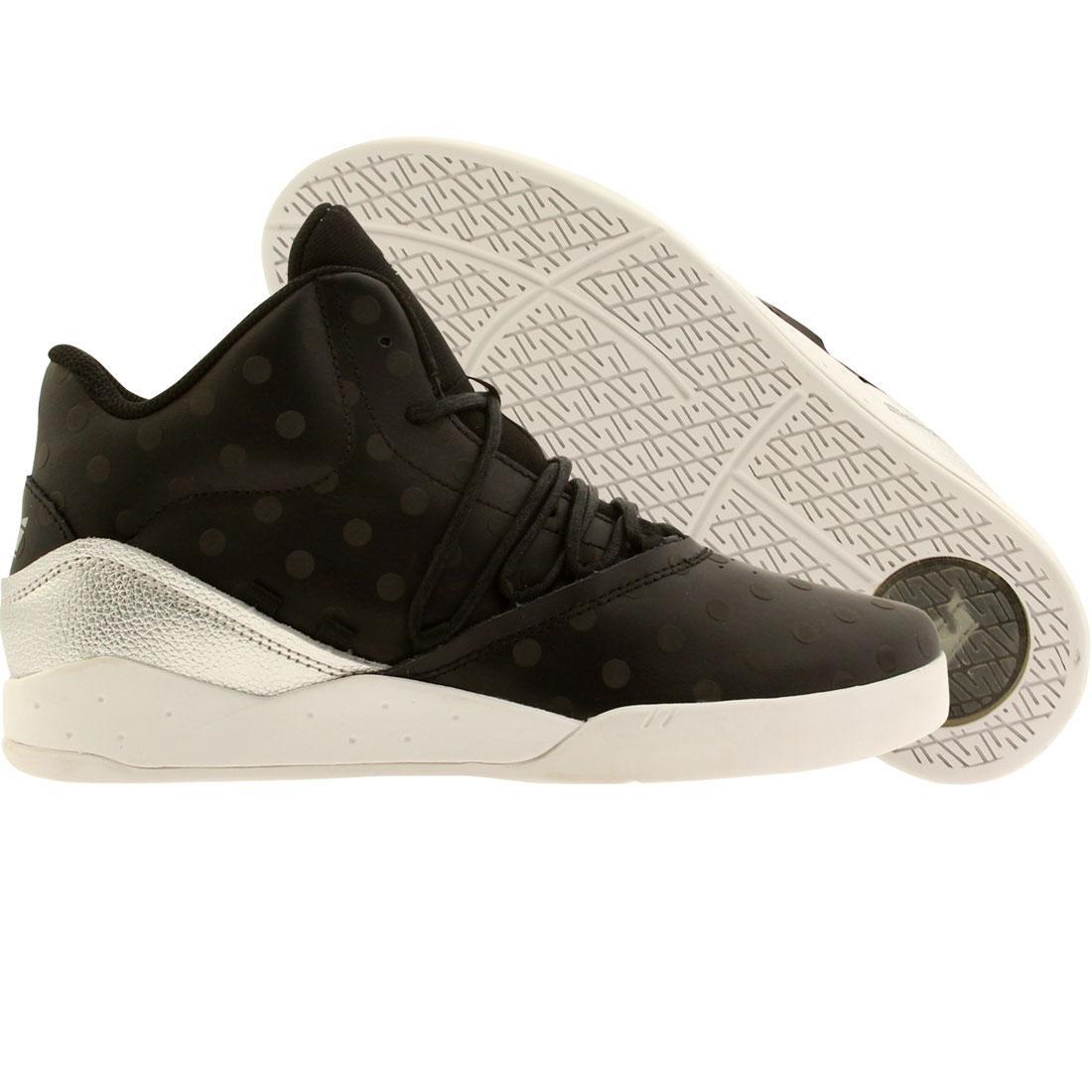 【海外限定】スープラ 黒 ブラック メンズ靴 スニーカー 【 SUPRA BLACK MEN ESTABAN SILVER 】