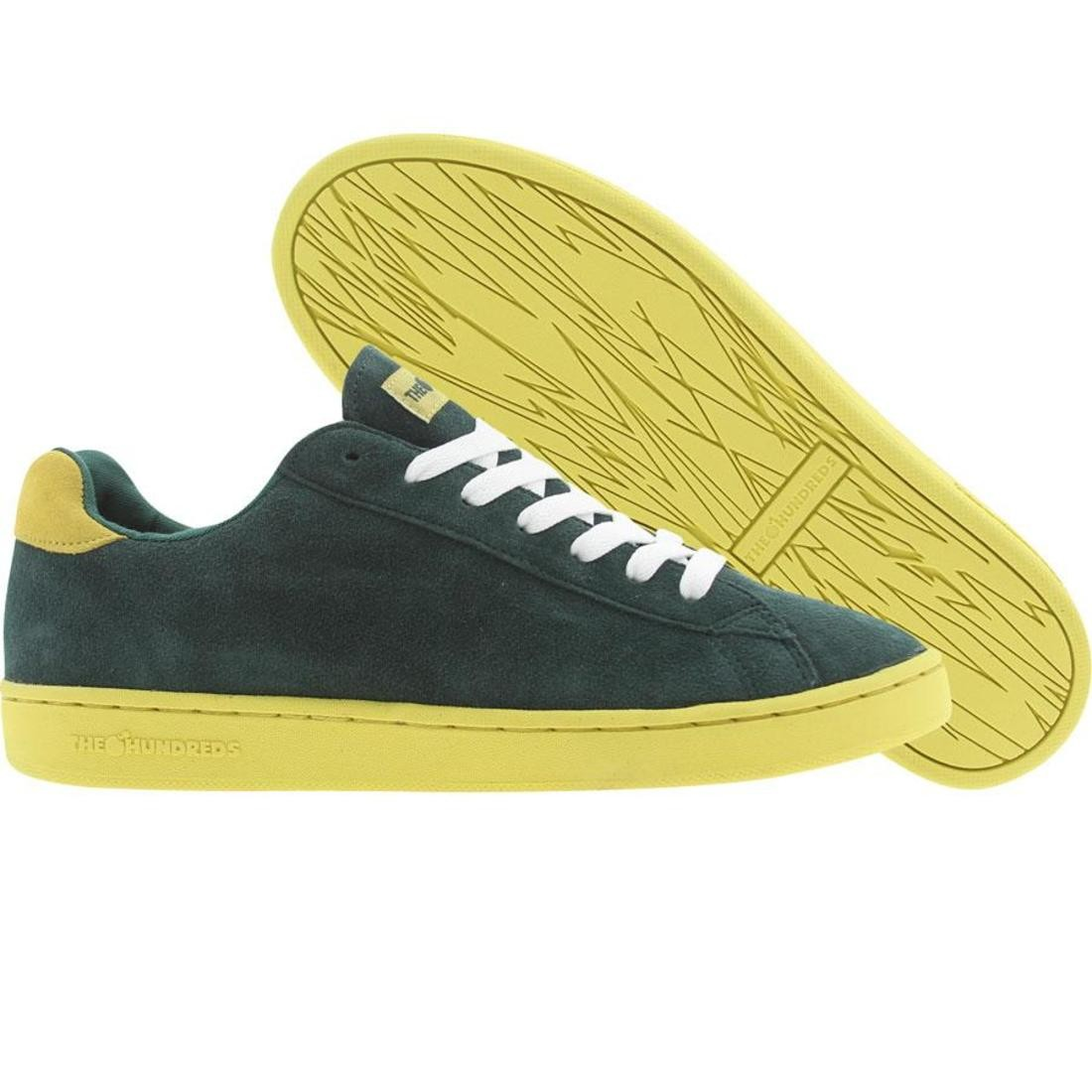 スニーカー メンズ靴 靴 【 THE HUNDREDS JACKSON LOW TOP GREEN 】