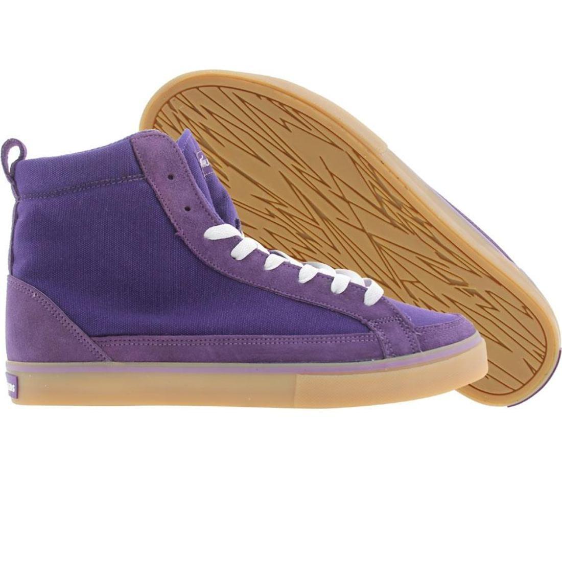 【海外限定】ハイ 靴 メンズ靴 【 THE HUNDREDS WAYNE HIGH TOP PURPLE 】