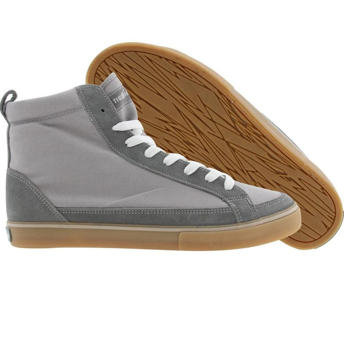 ハイ スニーカー 【 THE HUNDREDS WAYNE HIGH TOP GREY 】 メンズ