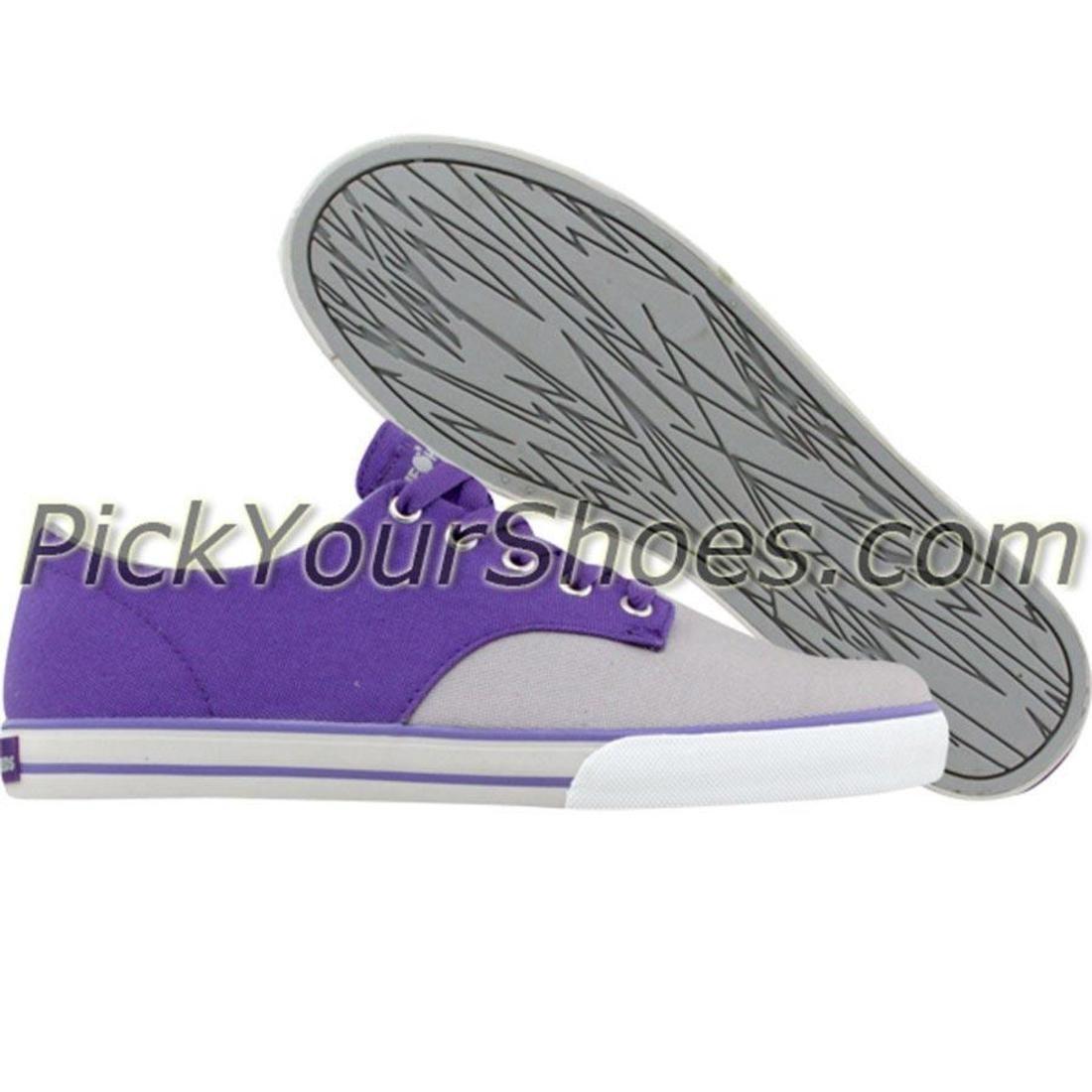 【海外限定】ジョンソン スニーカー 靴 【 THE HUNDREDS JOHNSON LOW TOP PURPLE 】