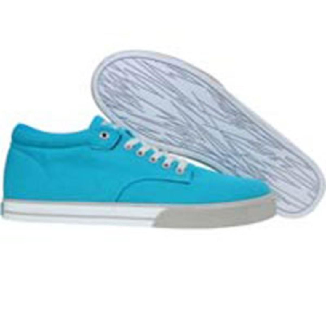 【海外限定】ジョンソン ミッド メンズ靴 靴 【 THE HUNDREDS JOHNSON MID CANVAS CARIBBEAN BLUE 】