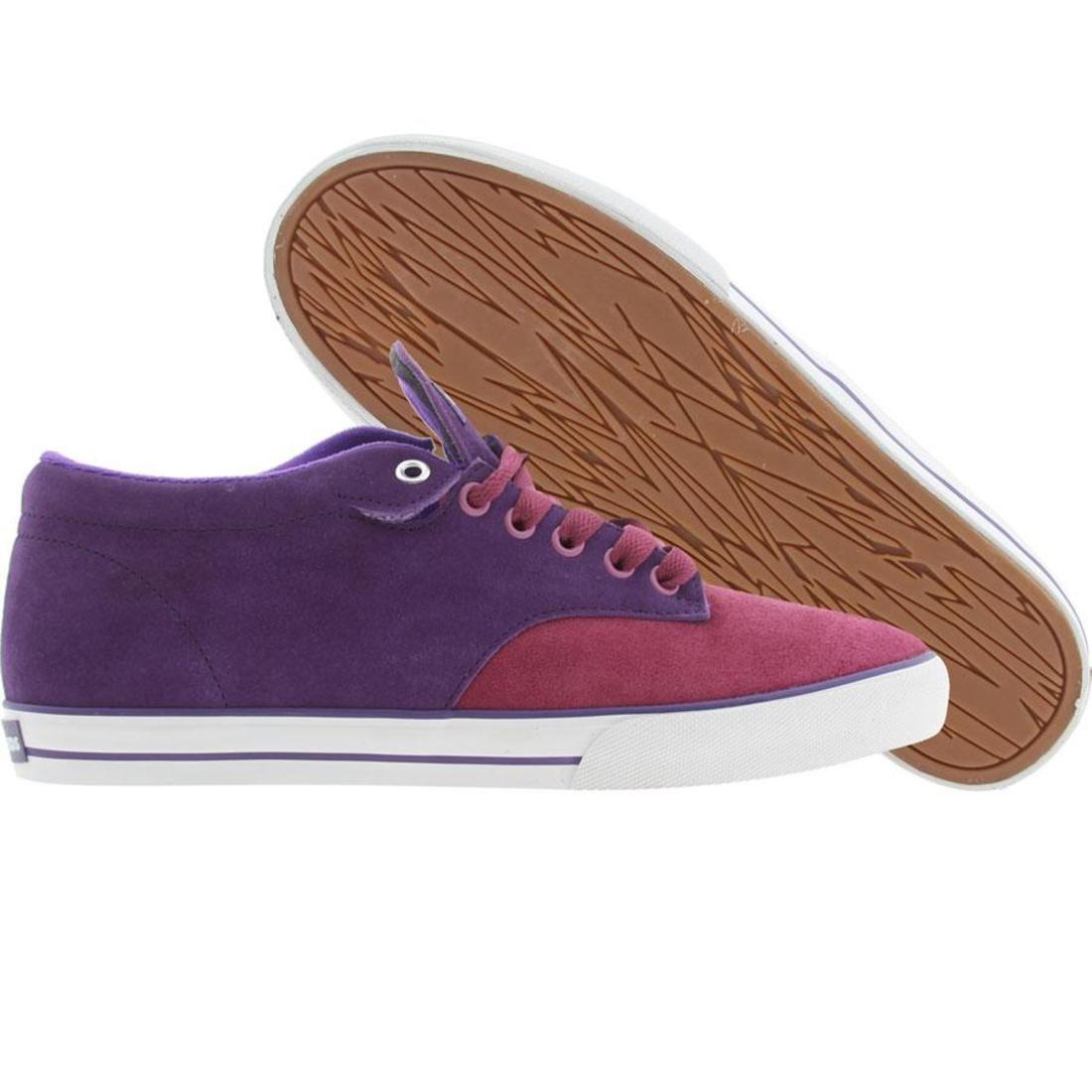 ジョンソン ミッド スニーカー メンズ 【 The Hundreds Johnson Mid (purple) 】 Purple
