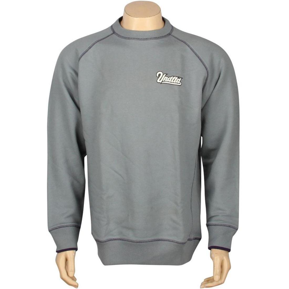 【スーパーセール中! 6/11深夜2時迄】UNDEFEATED スクリプト ラグラン メンズファッション トップス Tシャツ カットソー メンズ 【 Script Raglan Crew (grey) 】 Grey