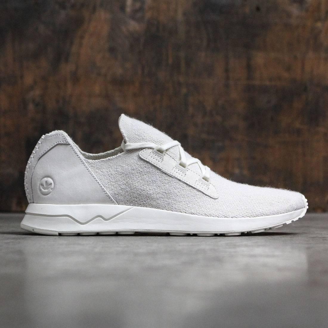 【海外限定】アディダス メンズ靴 スニーカー 【 ADIDAS CONSORTIUM X WINGS AND HORNS MEN ZX FLUX PRIMEKNIT WHITE OFF 】