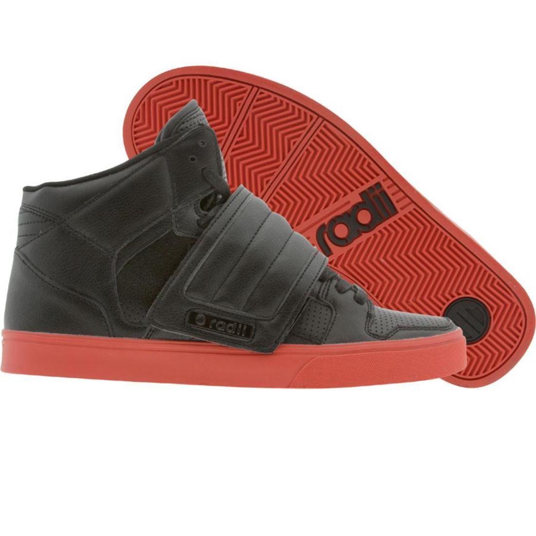 【海外限定】ラディアイ デラックス 赤 レッド 靴 スニーカー 【 RED RADII TIMELESS DELUXE BLACK PERF 】
