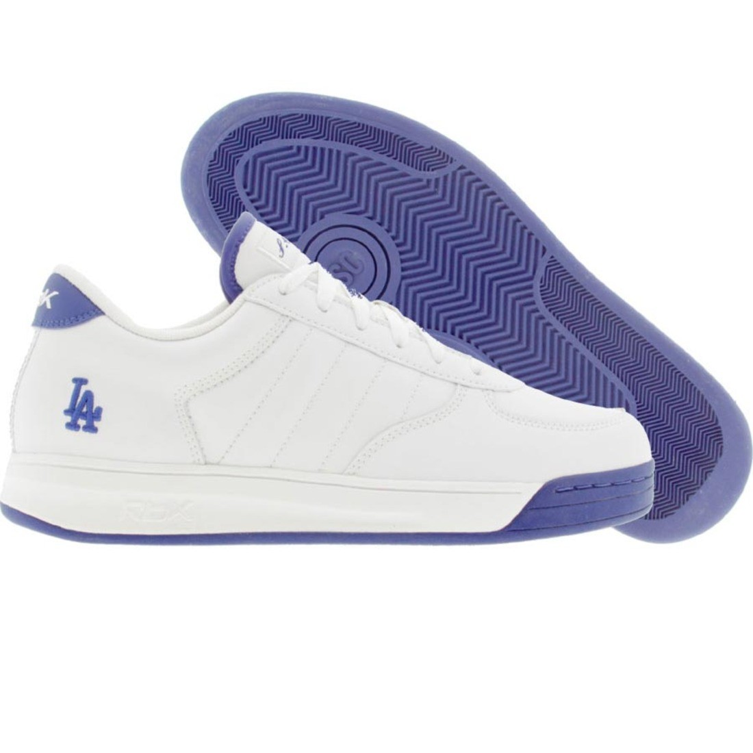 【海外限定】リーボック ドジャース スニーカー 靴 【 REEBOK BIG KIDS S CARTER BBALL LOW LA DODGERS WHITE ROYAL 】