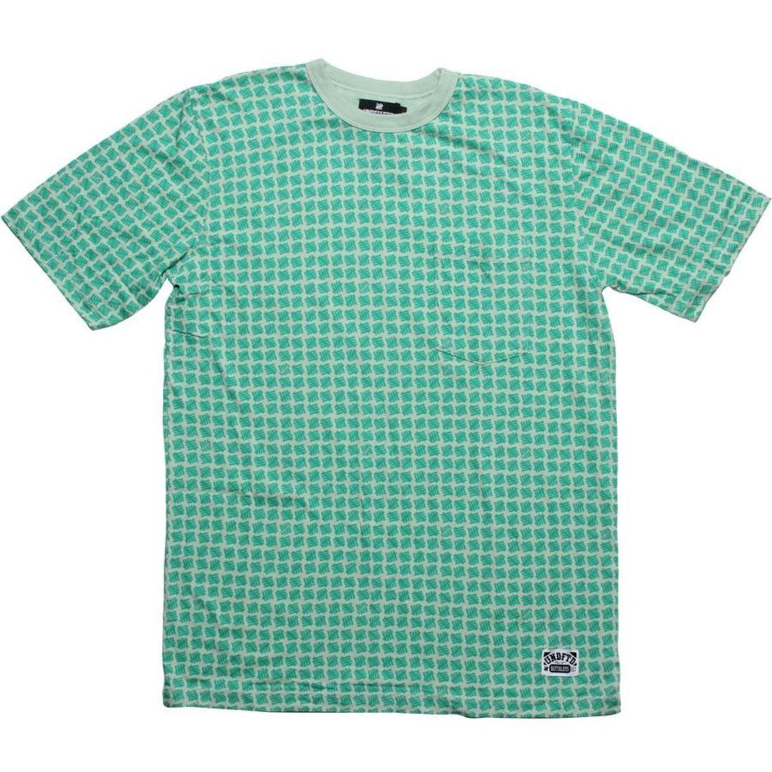 【海外限定】ストライク Tシャツ メンズファッション カットソー 【 UNDEFEATED ALL OVER STRIKE TEE GREEN 】