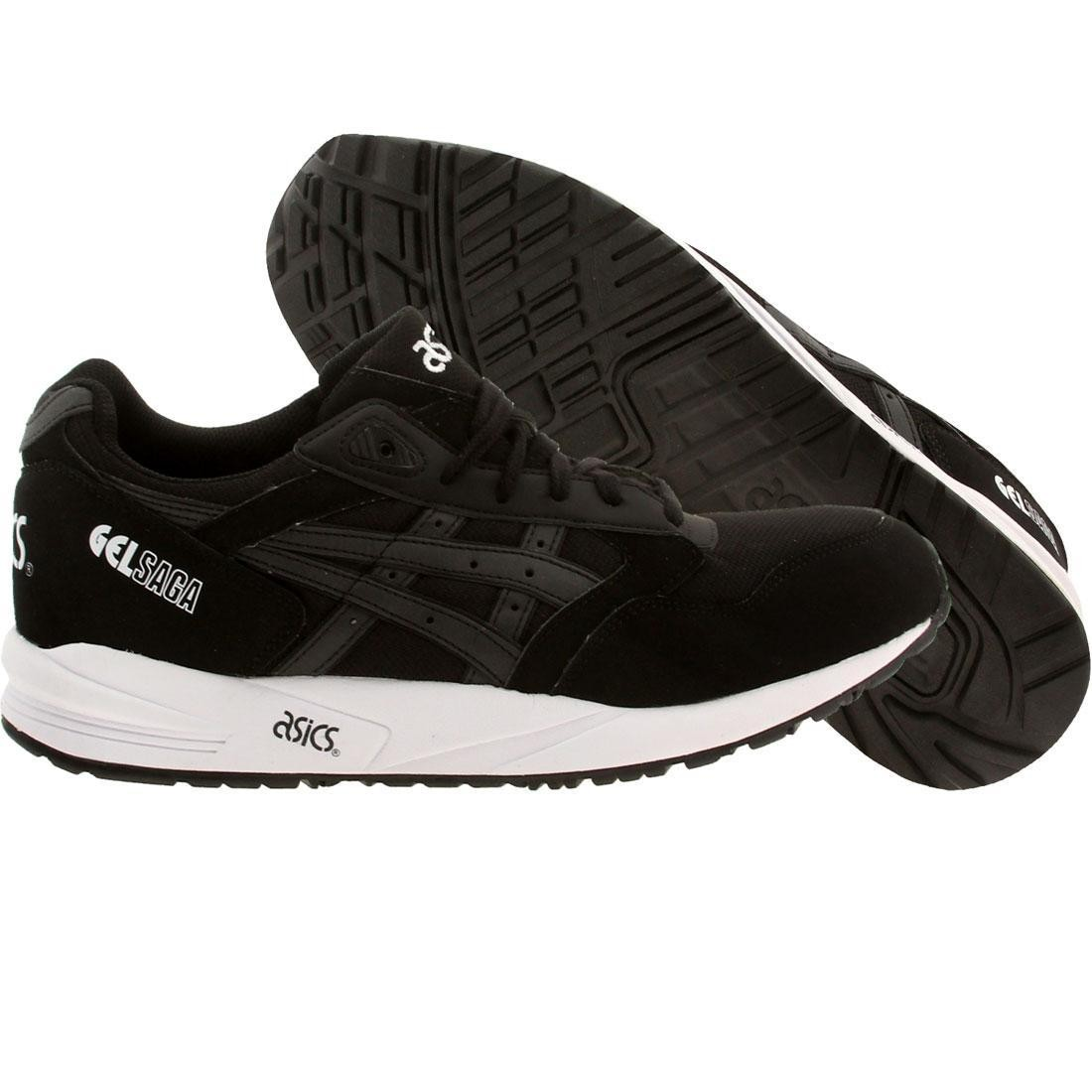 【海外限定】アシックス スニーカー 靴 【 ASICS TIGER MEN GELSAGA BLACK 】