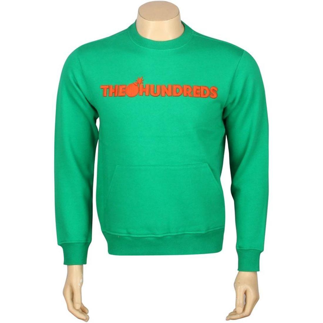メンズファッション トップス Tシャツ カットソー メンズ 【 The Hundreds Kanga Crewneck (green) 】 Green
