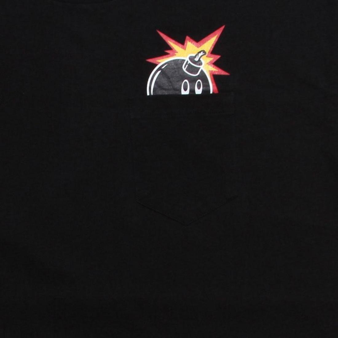 【海外限定】Tシャツ トップス 【 THE HUNDREDS PEEK A BOO TEE BLACK 】