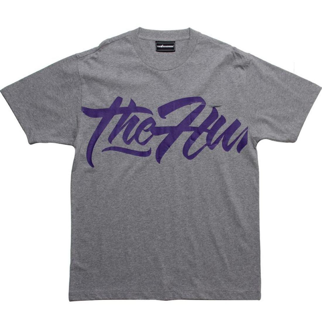 【海外限定】Tシャツ トップス メンズファッション 【 THE HUNDREDS EXTRA POCKET TEE HEATHER GREY 】