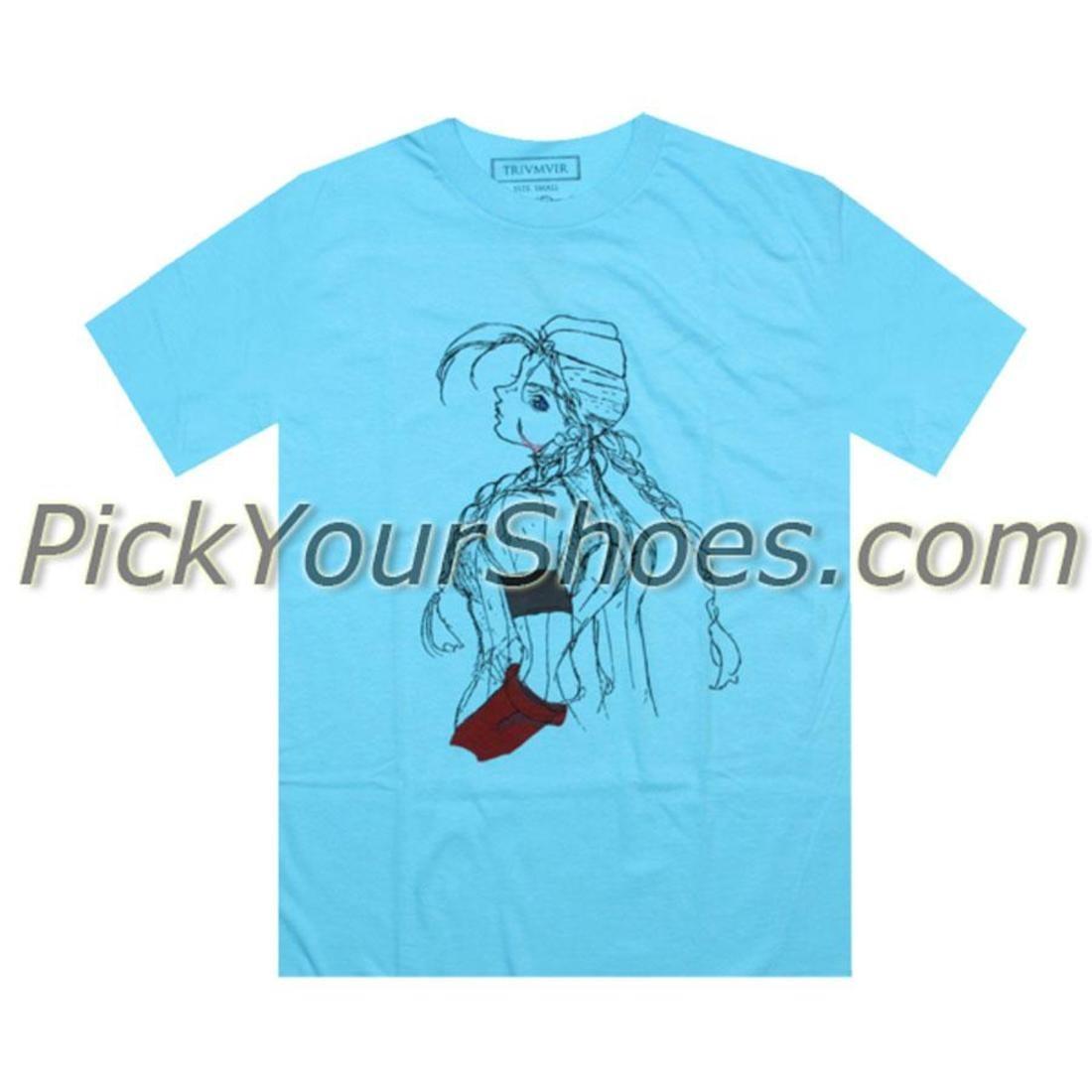 【海外限定】ストリート ファイター Tシャツ メンズファッション 【 STREET TRIUMVIR FIGHTER TEE CAMMY TEAL 】