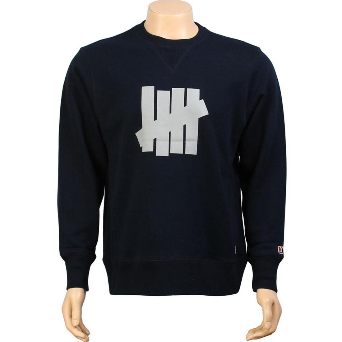 UNDEFEATED メンズファッション トップス Tシャツ カットソー メンズ 【 Corporate Five Crewneck (navy) 】 Navy