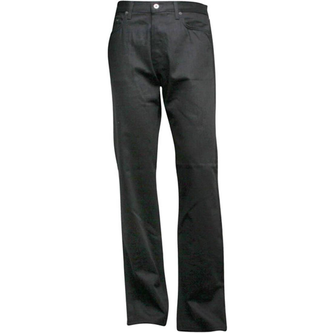 【海外限定】ハフ デニム ズボン メンズファッション 【 HUF REGULAR DENIM RAW BLACK 】