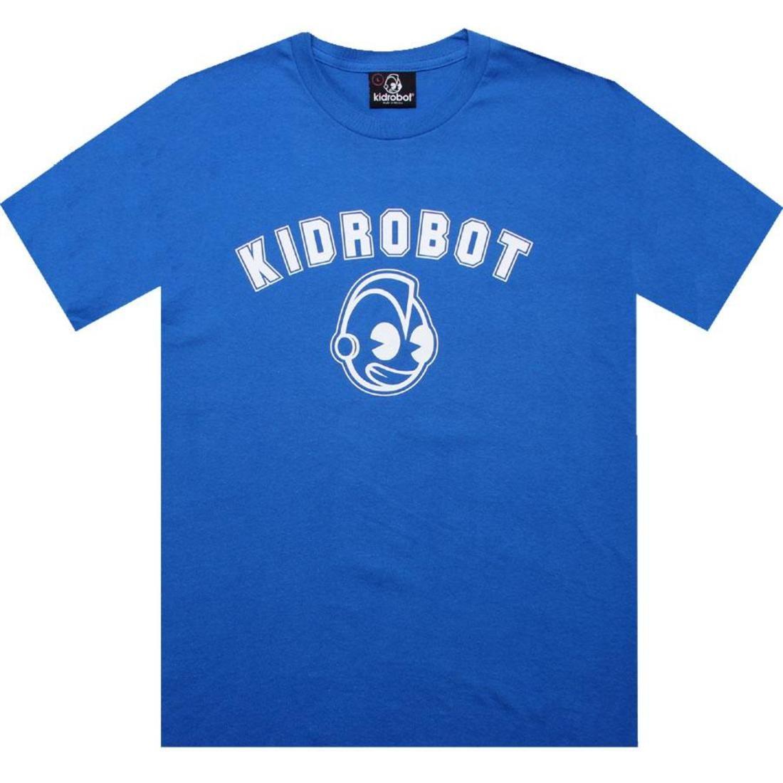 【海外限定】キッドロボット Tシャツ トップス 【 KIDROBOT SPORT TEE ROYAL BLUE 】