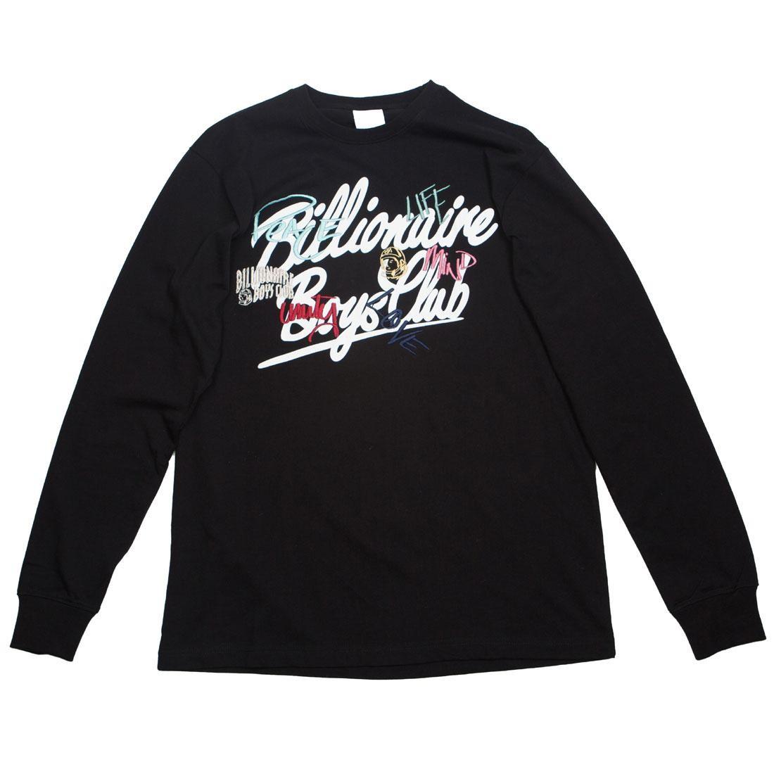 【スーパーセール中! 6/11深夜2時迄】ビリオネアボーイズクラブ BILLIONAIRE BOYS CLUB Tシャツ メンズファッション トップス カットソー メンズ 【 Men United Ls Tee (black) 】 Black