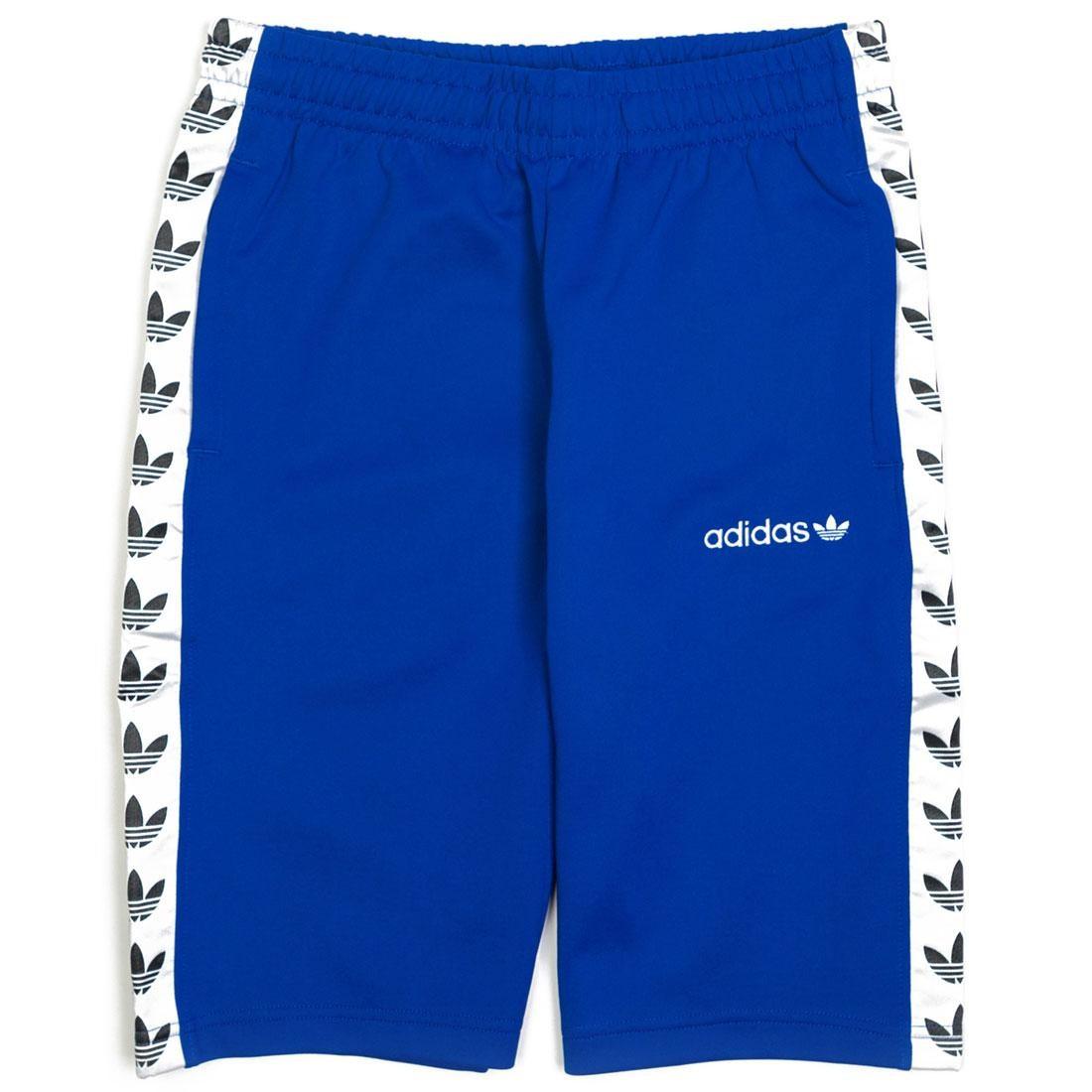 【海外限定】アディダス ショーツ ハーフパンツ 青 ブルー メンズファッション ズボン 【 ADIDAS BLUE MEN TNT SHORTS BOLD WHITE 】