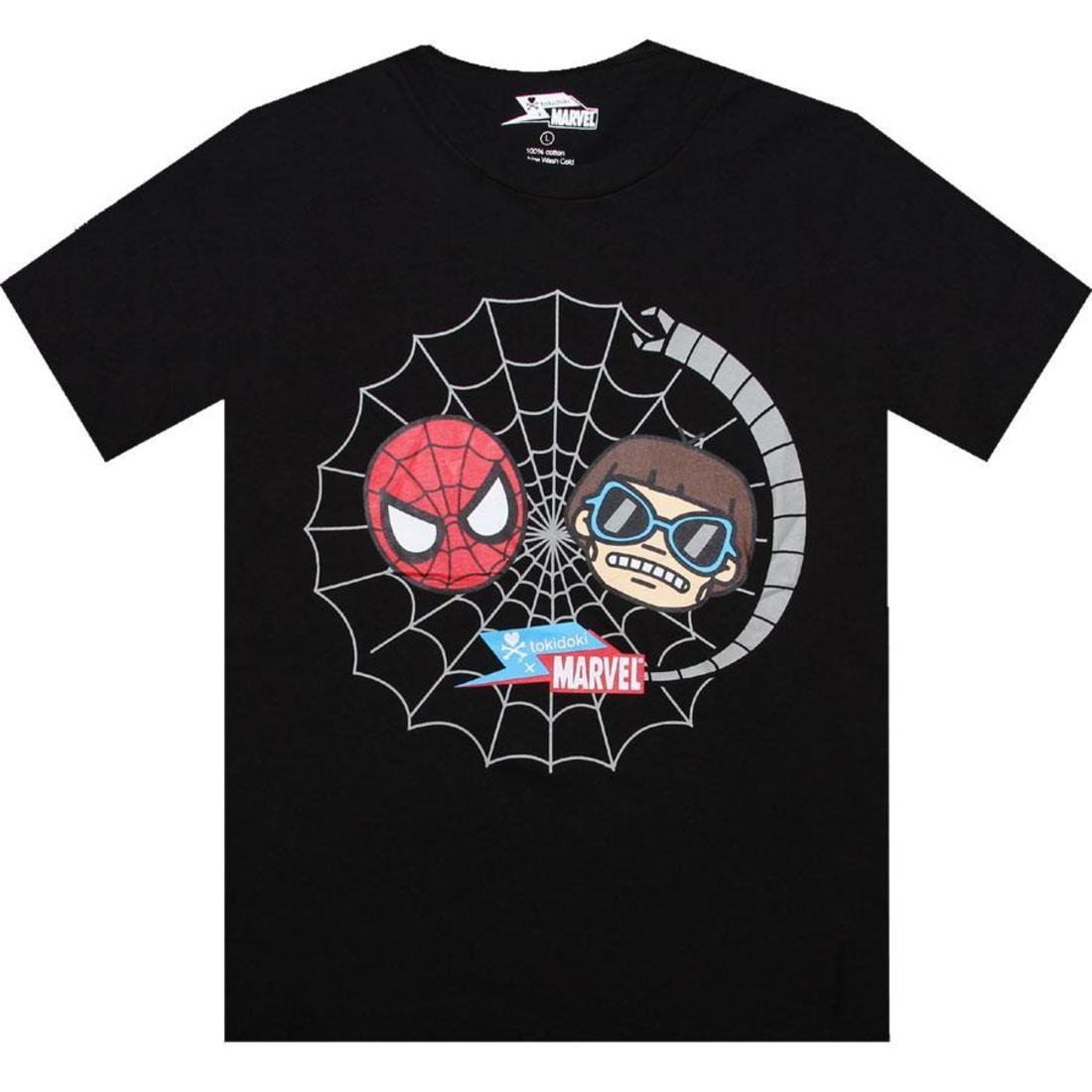 Tシャツ 黒 ブラック 【 BLACK TOKIDOKI X MARVEL FOES TEE 】 メンズファッション トップス Tシャツ カットソー