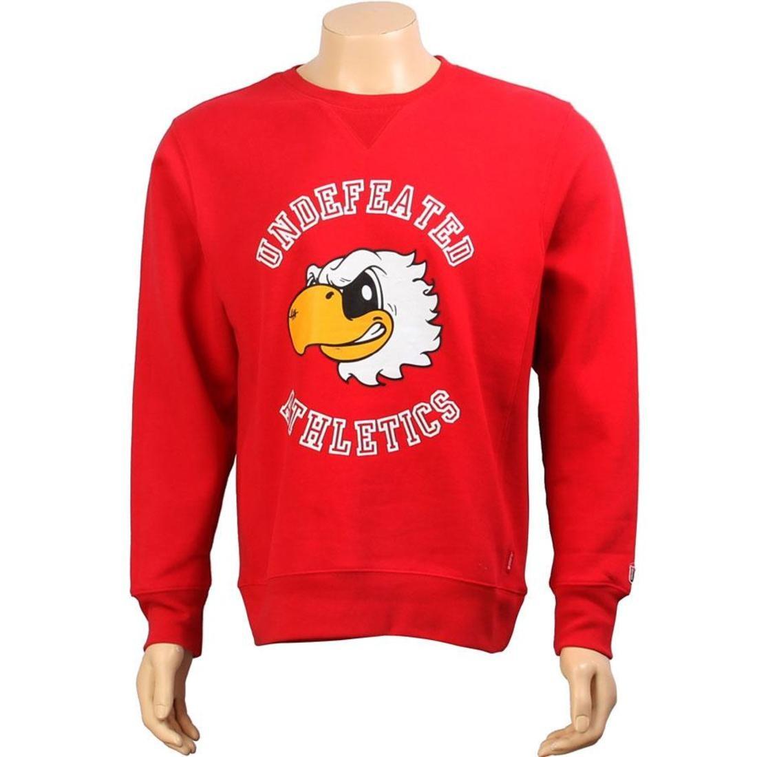 【スーパーセール中! 6/11深夜2時迄】UNDEFEATED メンズファッション トップス Tシャツ カットソー メンズ 【 Mascot Crewneck (red) 】 Red