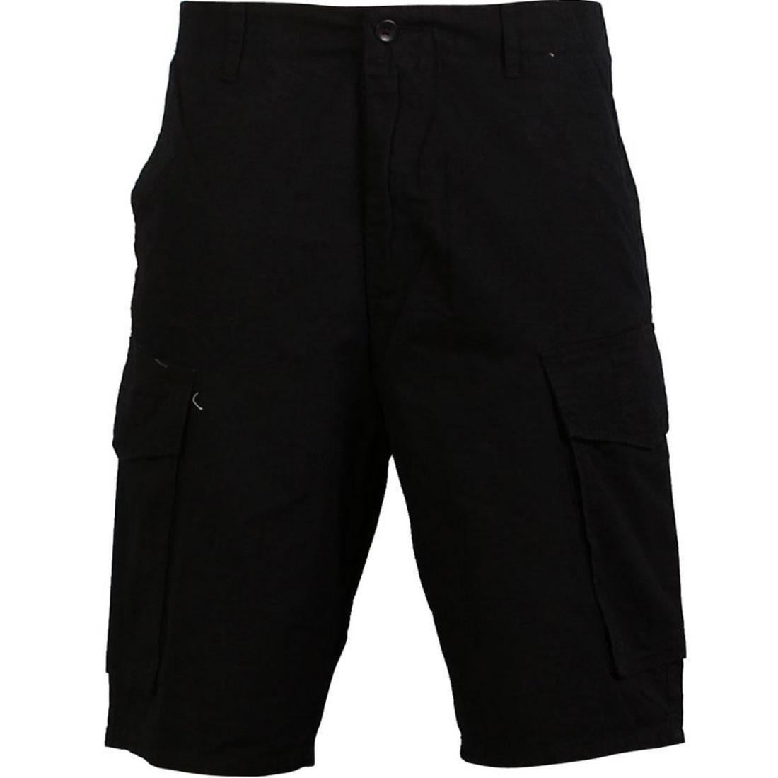 UNDEFEATED カーゴ ショーツ ハーフパンツ 黒 ブラック 【 BLACK UNDEFEATED JUNGLE CARGO SHORTS 】 メンズファッション ズボン パンツ
