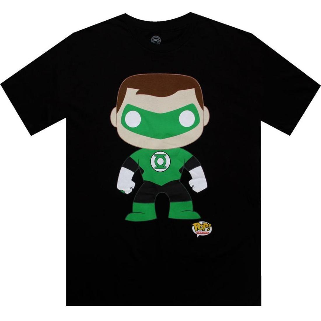 ディーシー コミックス 緑 グリーン Tシャツ メンズファッション トップス カットソー メンズ 【 Dc Comics Green Lantern Funko Tee (black) 】 Black