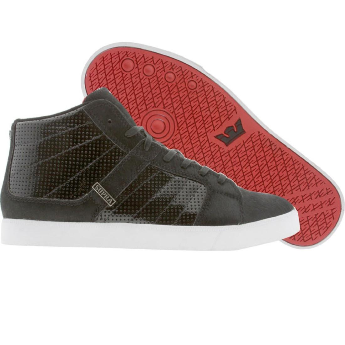 【海外限定】スープラ ポニー 靴 メンズ靴 【 SUPRA INDY NS BLACK PONY FUR 】