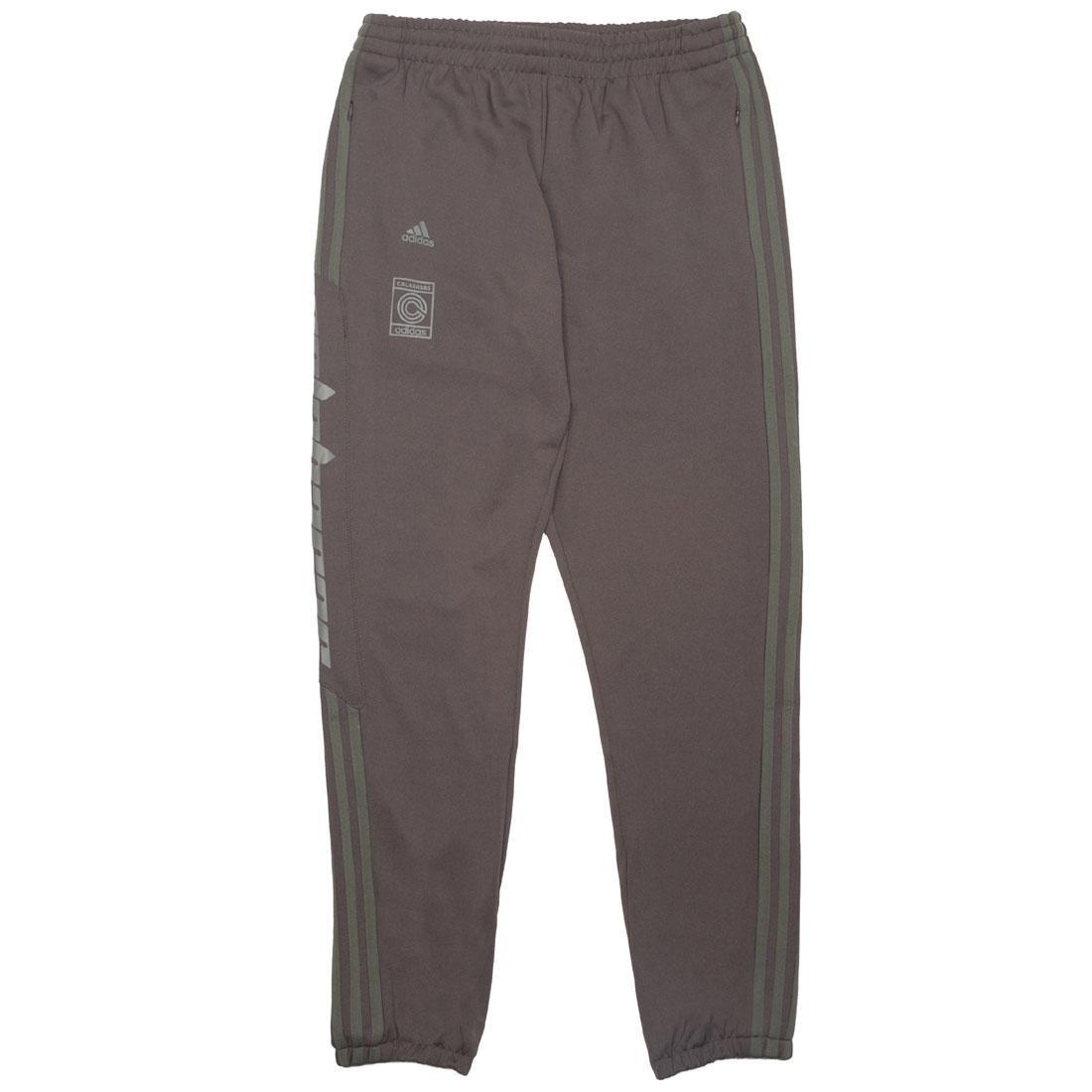 【海外限定】アディダス トラック パンツ メンズファッション 【 ADIDAS MEN YEEZY CALABASAS TRACK PANTS GRAY UMBER CORE 】