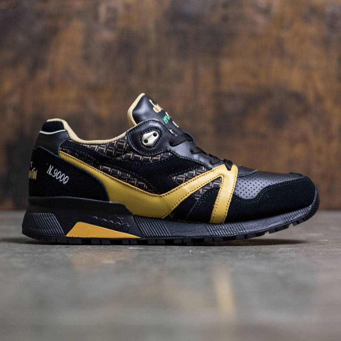 【海外限定】スニーカー 靴 【 DIADORA MEN N9000 LITTLE ITALY BLACK 】