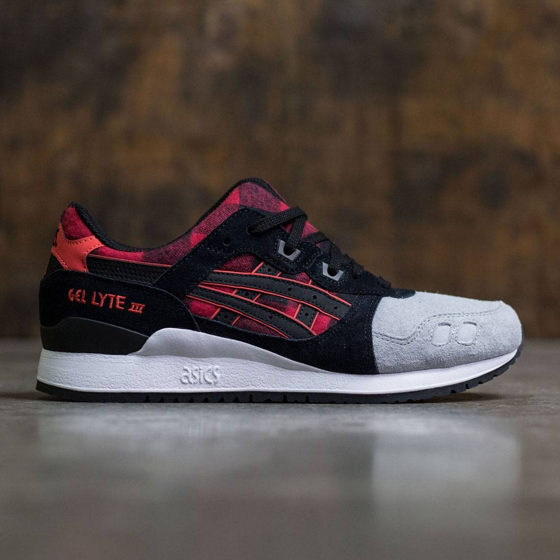 アシックスタイガー ASICS TIGER スニーカー メンズ 【 Men Gel-lyte Iii (red / Black) 】 Red / Black
