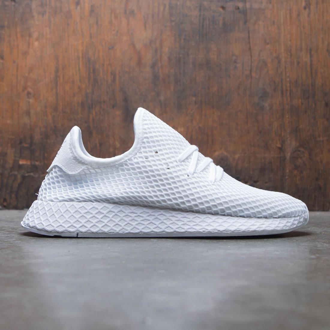 【海外限定】アディダス スニーカー メンズ靴 【 ADIDAS MEN DEERUPT RUNNER WHITE FOOTWEAR 】