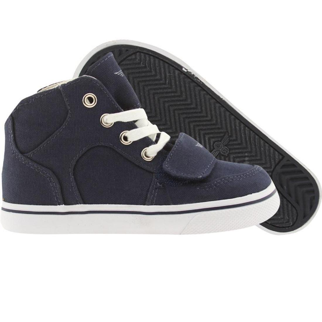 【海外限定】靴 スニーカー 【 TODDLERS CREATIVE RECREATION CESARIO XVI NAVY 】