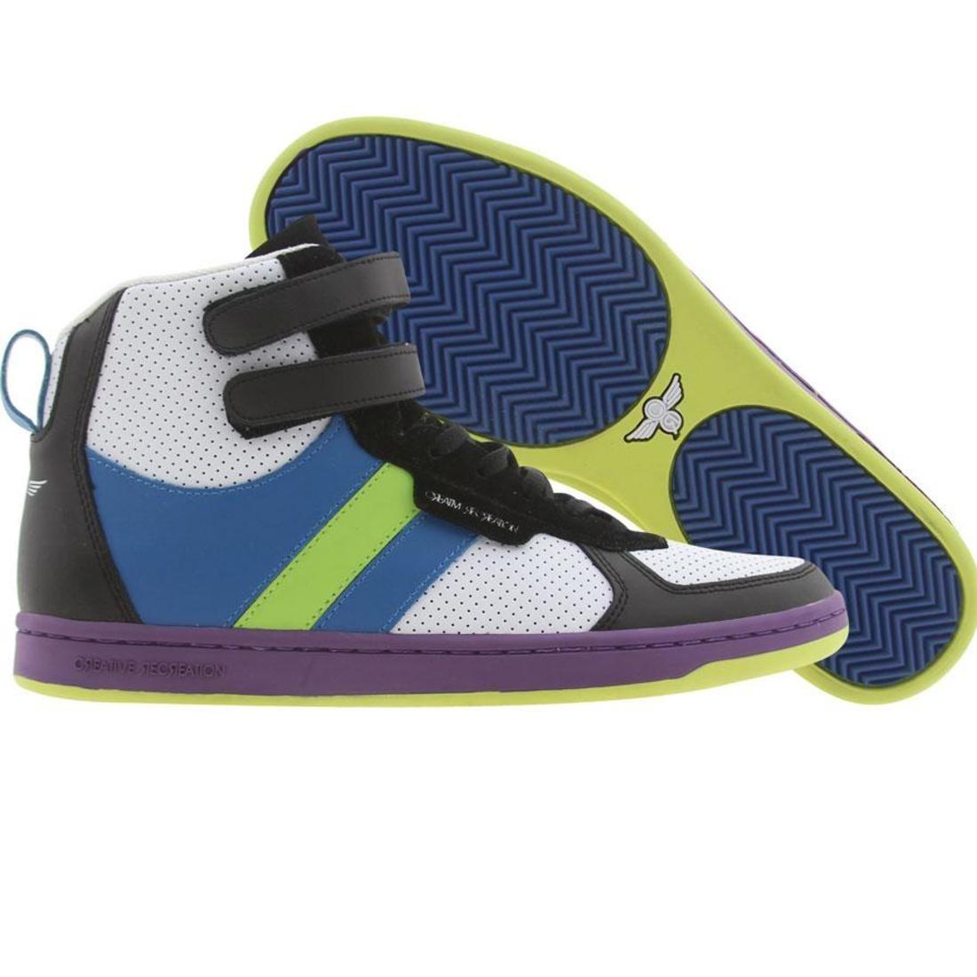 【海外限定】青 ブルー 靴 メンズ靴 【 BLUE CREATIVE RECREATION DICOCO BLACK LIME DEWBERRY 】