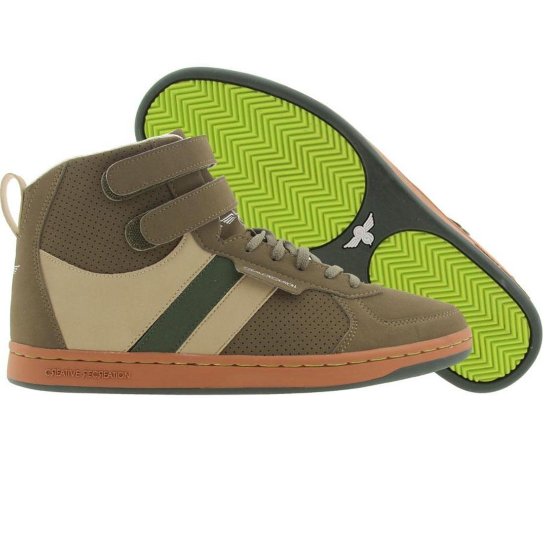 【海外限定】緑 グリーン スニーカー メンズ靴 【 GREEN CREATIVE RECREATION DICOCO MILITARY GARDEN RUST 】
