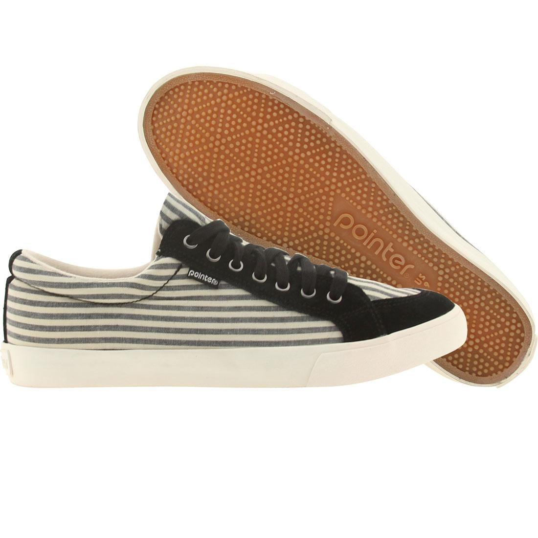 【海外限定】ナチュラル メンズ靴 スニーカー 【 POINTER SEEKER IV BLACK NATURAL STRIPES 】