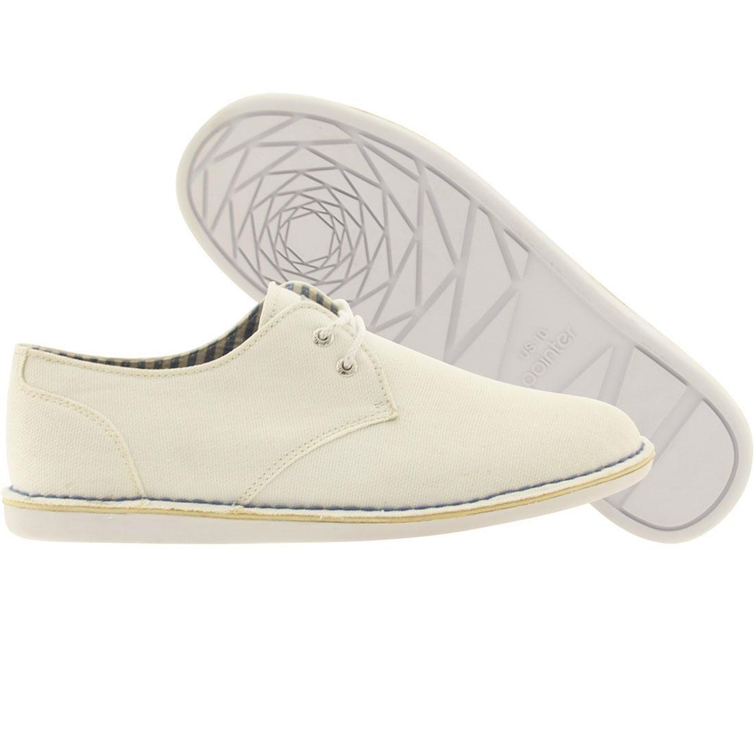 【海外限定】メンズ靴 スニーカー 【 POINTER CRAGO WHITE CANVAS 】