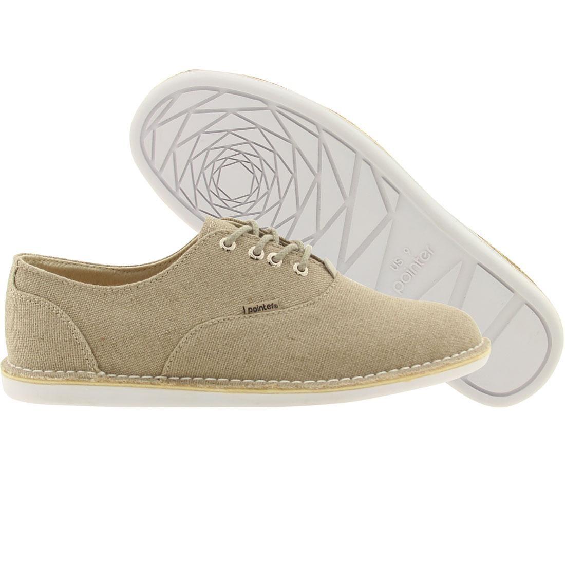 【海外限定】オックスフォード 靴 スニーカー 【 POINTER OXFORD NATURAL 】