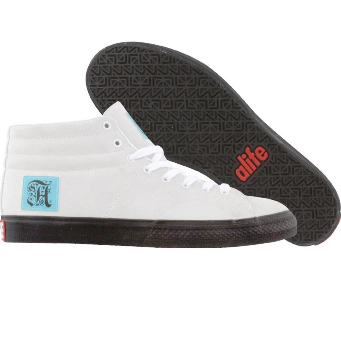 【海外限定】エーライフ シェル スエード スウェード 靴 スニーカー 【 SHELL ALIFE TOE SUEDE WHITE 】