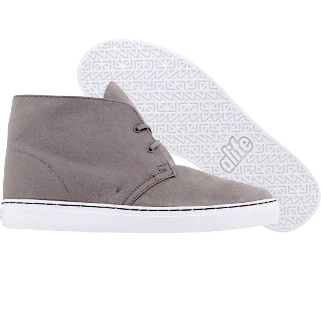 【海外限定】エーライフ スエード スウェード 靴 メンズ靴 【 ALIFE CHUCK SUEDE GREY 】
