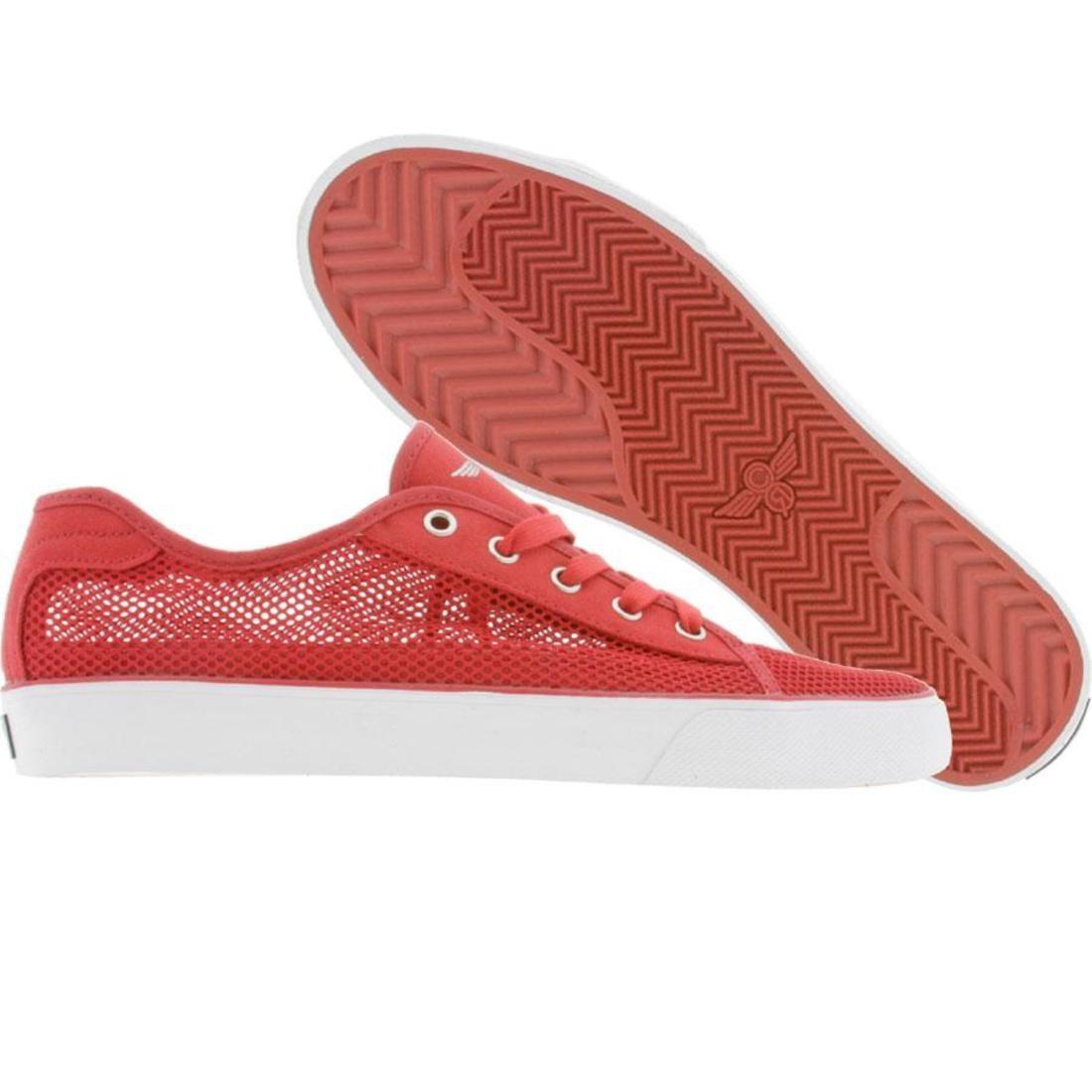 【海外限定】スニーカー 靴 【 CREATIVE RECREATION KAPLAN V RED MESH 】