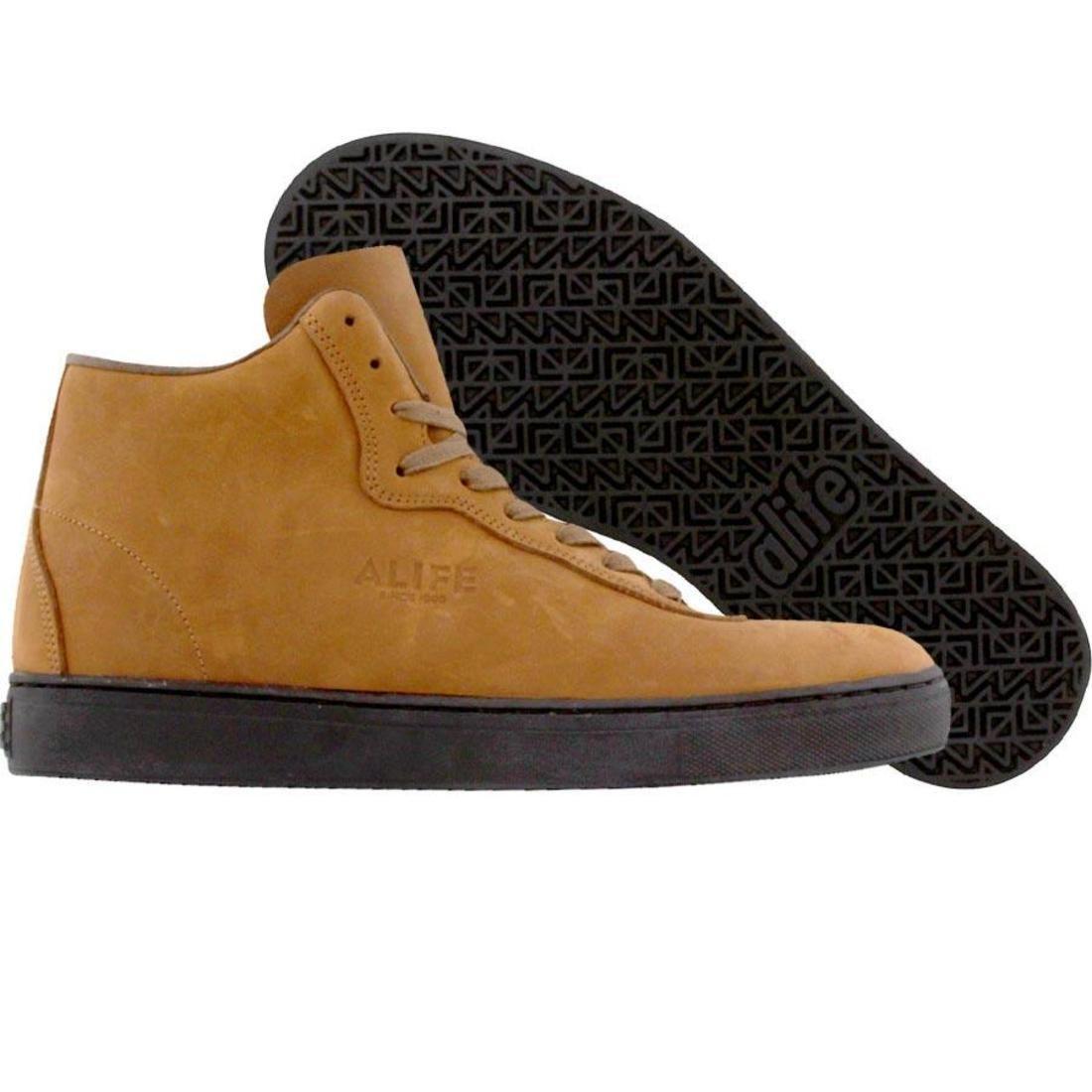 【海外限定】エーライフ ハイ 靴 メンズ靴 【 ALIFE EVERYBODY MONO HIGH OILED FULL GRAIN BROWN 】