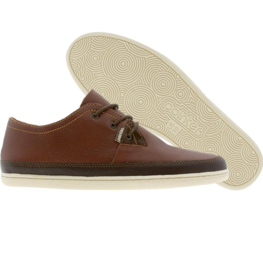 【海外限定】靴 メンズ靴 【 POINTER AJS II 2 CHESTNUT IVORY 】