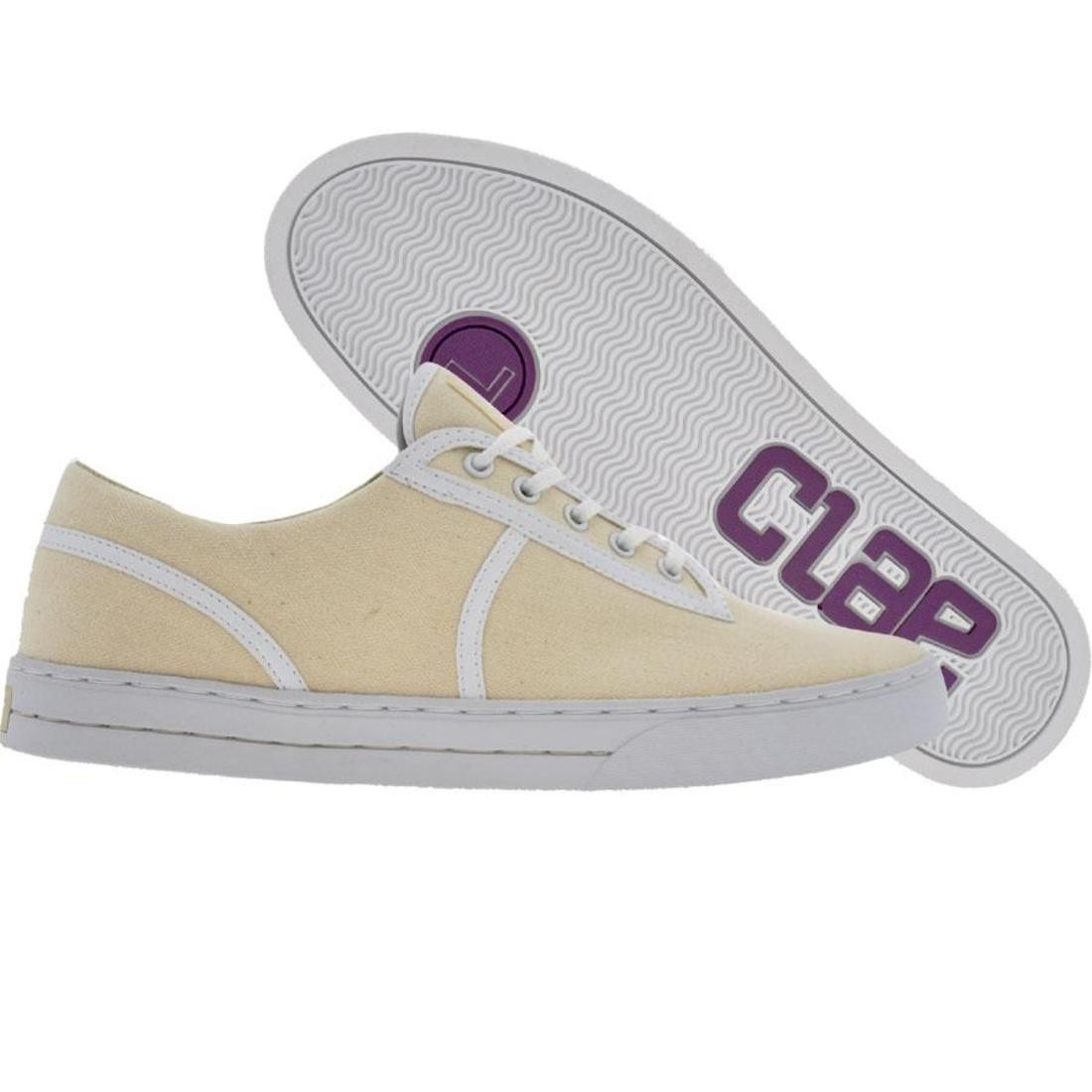 【海外限定】靴 スニーカー 【 CLAE KENNEDY NATURAL HERRINGBONE 】
