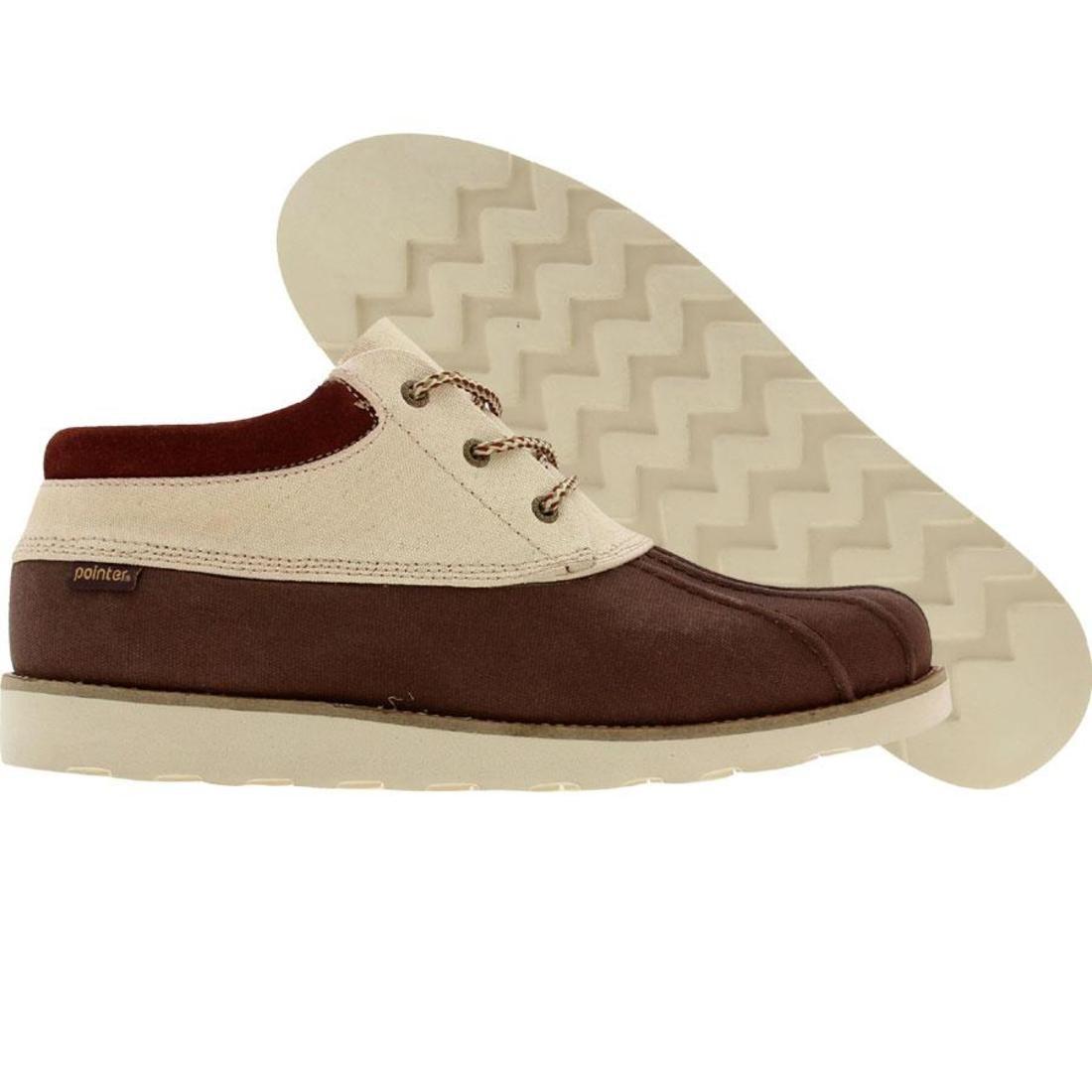 【海外限定】靴 スニーカー 【 POINTER PLUCKROSE BRICK WHITE 】