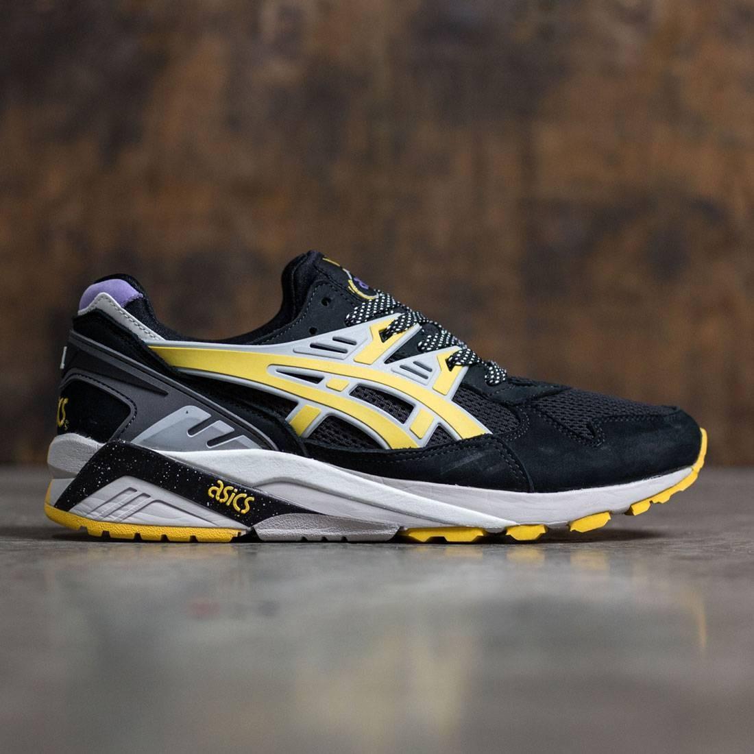 【海外限定】アシックス トレーナー 靴 メンズ靴 【 ASICS X SNEAKER FREAKER MEN GELKAYANO TRAINER MELVIN BLACK YELLOW 】