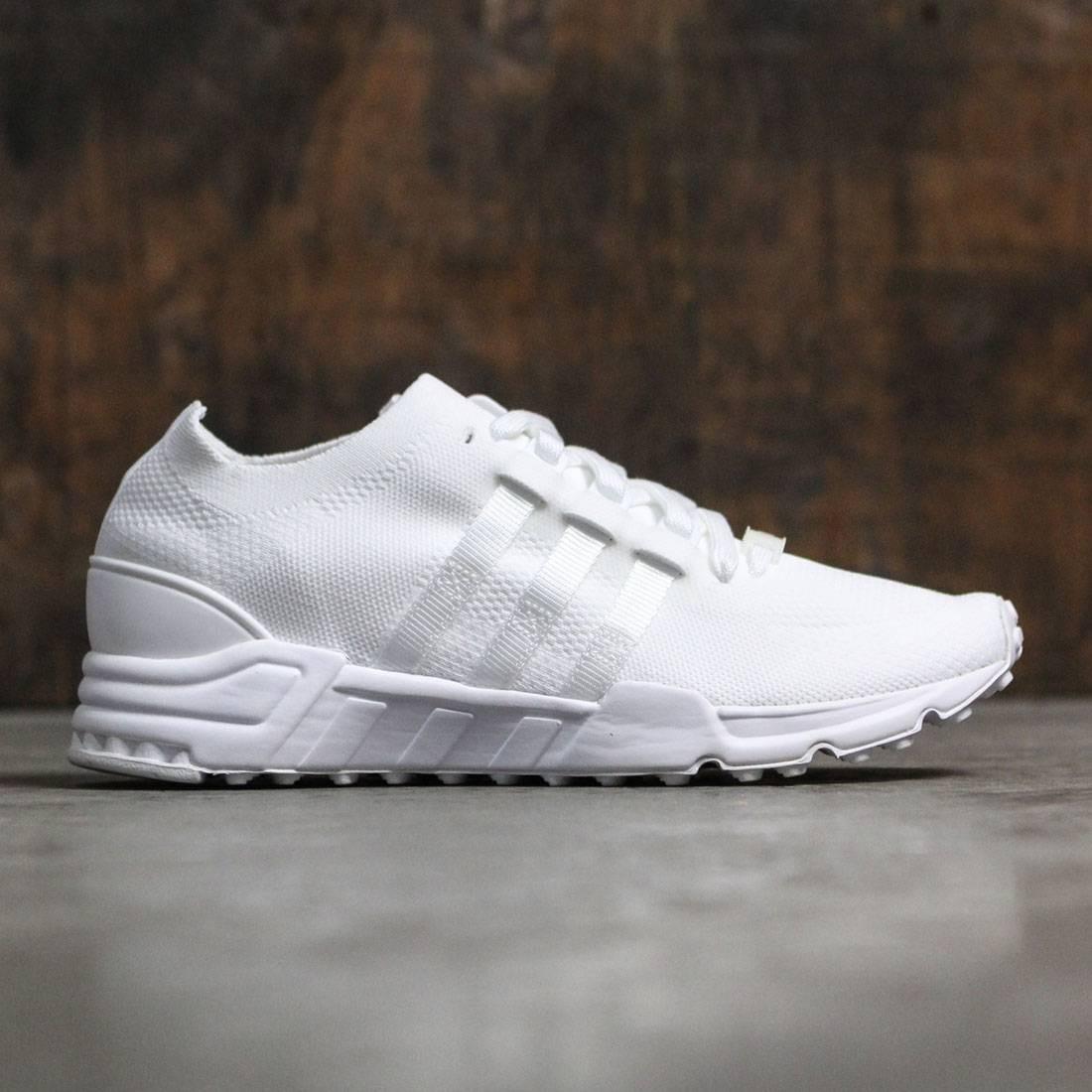 【海外限定】アディダス スニーカー メンズ靴 【 ADIDAS MEN EQUIPMENT SUPPORT PRIMEKNIT WHITE FOOTWEAR 】